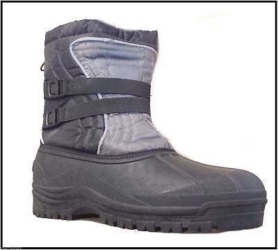Winter Boots 100% Waterproof Thermal Fishing Boots Size 8 • 21.99£