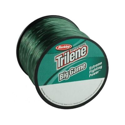 Berkley Trilene Big Game GREEN Monofilament Fishing Line - All Breaking Strains • 9.99£