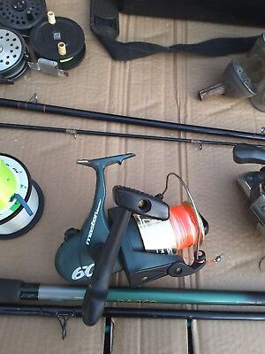 Used Fishing Equipment Bundle, Fly, Rods, Weights,waders. • 120£