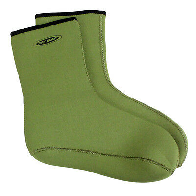 Dirt Boot® Neoprene Wellington Sock Fishing Hunting Muck Socks Green • 9.95£