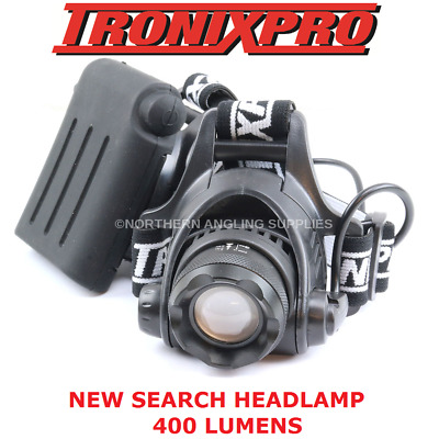 Tronix Pro Search Headlight Torch For Fishing NEW FOR 2017 • 17.95£