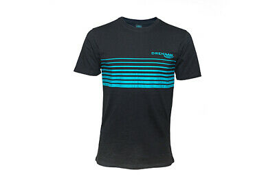 Drennan Carp  Fishing Black/aqua T Shirt - Sports Top • 15.95£