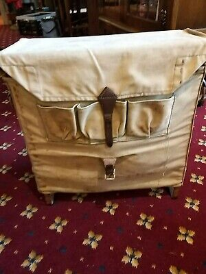 Vintage Fishing Bag And Contents • 60£