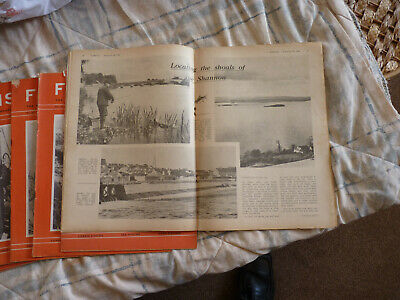 FISHING  Weekly Angling  Magazine 5 Copies Nos. 80 To 84 Published 1964 • 28£