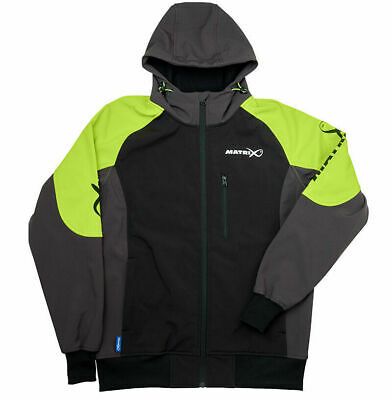 Matrix Soft Shell Fleece Jacket Wind And Water Resistant ALL SIZES • 58.99£