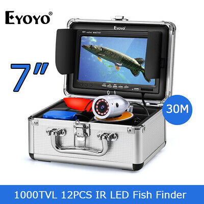 30M Underwater Sea Fishing Camera Night Vision 4500mAh Fish Finder For Sea Ice • 95.99£