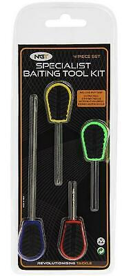 New NGT 4Pc Soft Grip Baiting Tool Set • 7.99£