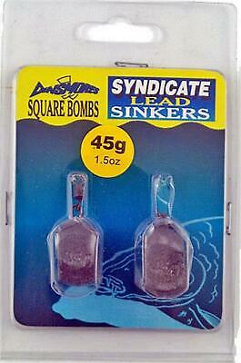 New Dinsmores Square Bombs 45G / 1.5Oz Lead (2 Pack) • 7.69£