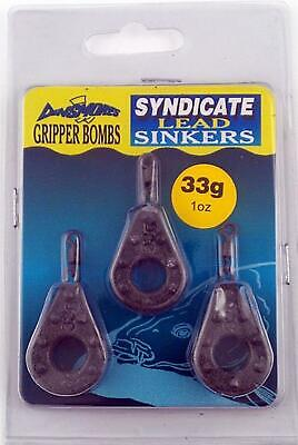 New Dinsmores 33G Gripper Bombs Pack Of 3 • 7.69£