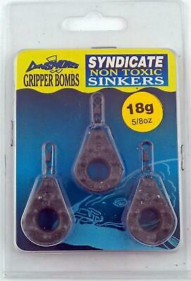 New Dinsmores Gripper Bombs Non-Toxic Leads 5/8Oz 3 Pack • 7.69£