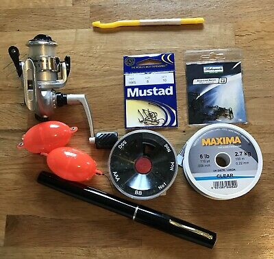 Fishing Rod Mini Pen Style And Extras New • 20£