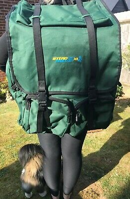 Fishing Rucksack,Stead Fast 2XL,Large Tackle Back Pack, Great Condition  • 5.50£