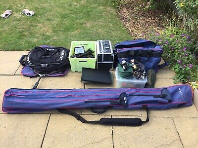 Carp Fishing Job Lot, Nets, Reels, Rods, Tackle • 104£