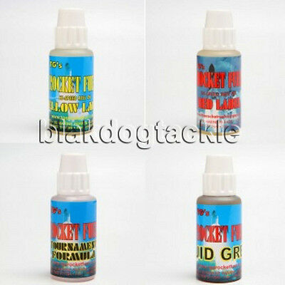 TG's Rocket Fuel Hi-Speed Reel Oils, Red Label, Yellow Label,Tournament, Grease • 7.99£