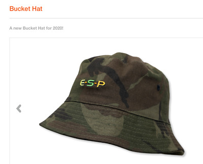 Esp Carp Camo / Olive Reversible Bucket Hat - Two Sizes • 12.95£