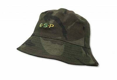 New Esp Reversible Bucket Hat Olive/camo (2 Sizes Available) • 12.95£