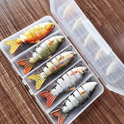 [5 Pcs / Set ] Bionic Fish Lure - Suitable For All Kinds Of Fish • 12.89£
