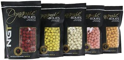 NGT Baits Sample Pk Of Boilies Apx 100 Gms 50 Boilies All Flavours Carp Fishing • 1.99£