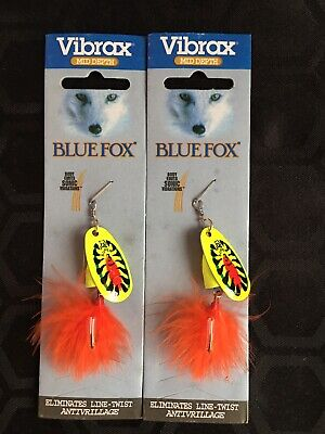 2 X SUPER X-3: Rapala / Vibrax X Spin - Vibrating Lures For Pike Trout Perch • 5.95£
