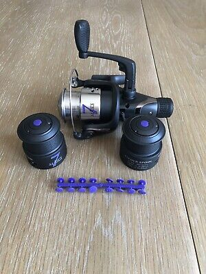 Drennan 7 Series Feeder Reel With Two Spare Spools • 35£