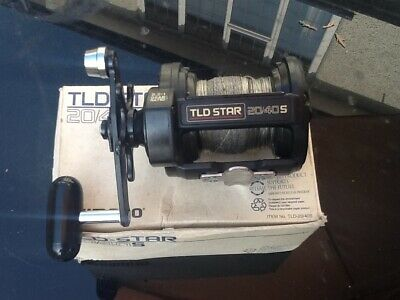 Shimano Tld Star 20/40s Multiplier Sea Fishing Reel Boat Conger Tope Huss • 31.01£