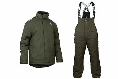 Fox Carp Winter Suit Fishing Thermal Waterproof Suit Jacket / Bib And Brace 2020 • 149.99£
