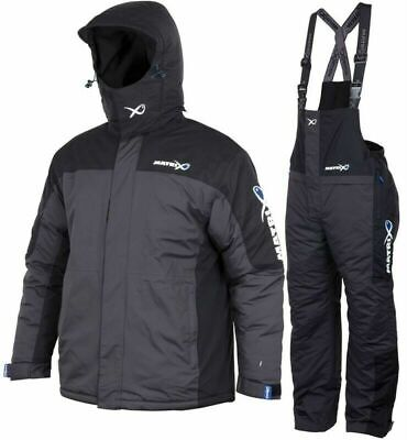 Matrix Winter Suit Waterproof Padded Jacket & Saloppettes Fishing Clothing • 199.99£