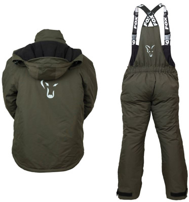 Fox Winter Carp Suit Green / Silver New All Sizes • 159.99£