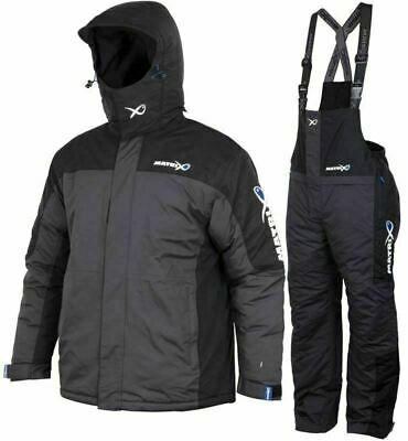 Matrix Winter Match Fishing Waterproof Thermal Suit ALL SIZES • 168.99£