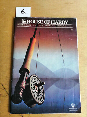 Vintage 1984/ 85 Hardy Fishing Catalogue Tackle Guide + Price List • 14£