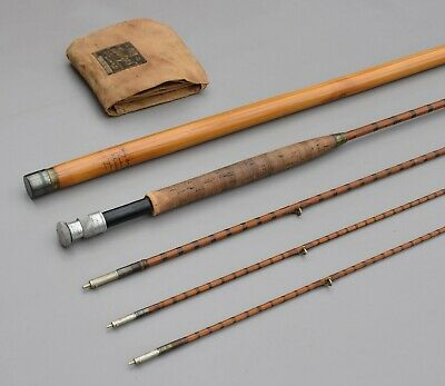 Hardy      The Halford  1912  Dry  Fly       9' - 6      Split  Cane  Fly  Rod   • 149.99£