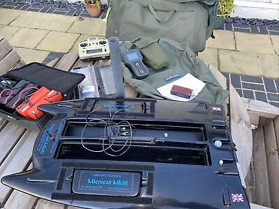 Microcat Mk3 Bait Boat With Echo. Serviced By Angling Technics This Year • 750£