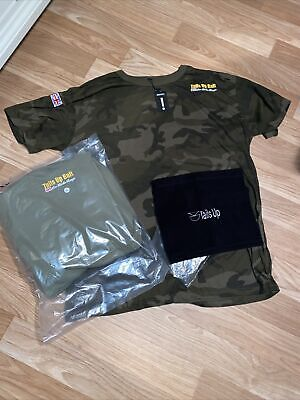 Tails Up Bait Xxl Clothing, Hoody, T Shirt And Snood, Unworn • 25£