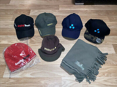 Carp Fishing Hats And Scarf, All Unworn. Mainline, Urban Baits • 1.70£