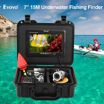 Eyoyo 7 Inch IPS Screen 15M Sunreadable Underwater Fishing Camera Sun-Visor IP68 • 110.99£