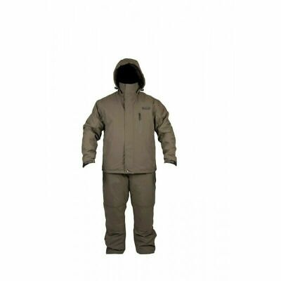 Avid Carp Arctic 50 Suit Carp Fishing 2 Piece Winter Suit Jackey + Salopettes • 134.99£