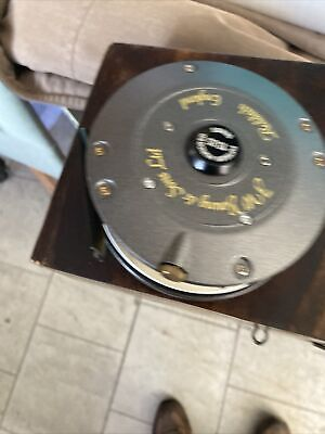 Vintage  J W Young Fifteen Hundred Series Salmon Fly Reel 1535 4.25  Diameter • 19£