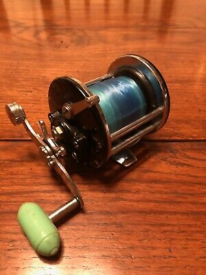 Penn Beachmaster 160 Solid Frame Fishing Reel With Star Drag And Torpedo Handle. • 10.50£