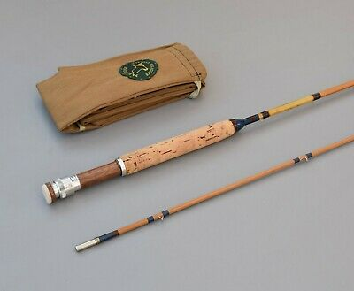 Partridge Of Redditch     8' -5    #4/5      Split  Cane  Fly   Rod • 129.99£