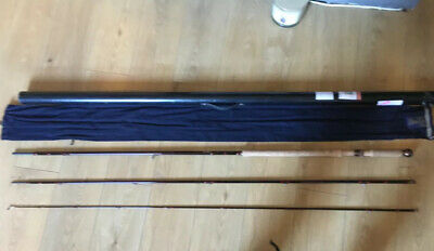 Hardy Deluxe Classic 15ft 3 Piece Salmon Fly Rod #10 With Bag And Tube • 51£