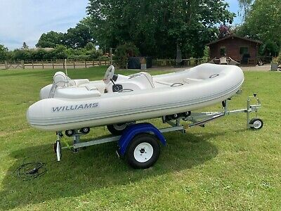 Williams Turbo Jet RIB Boat • 7,800£