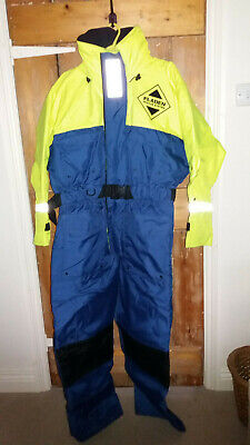 Survival Suit Fladen Survival System Fishing Sailing Boating Size Large • 48£