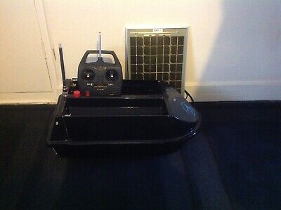 Angling Technics Bait Boat With Solar Panel, New Battery A Year Ago  • 376£