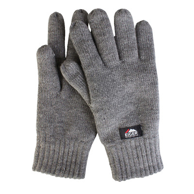 Eiger Knitted Glove 3M Insulate Lining • 7.99£