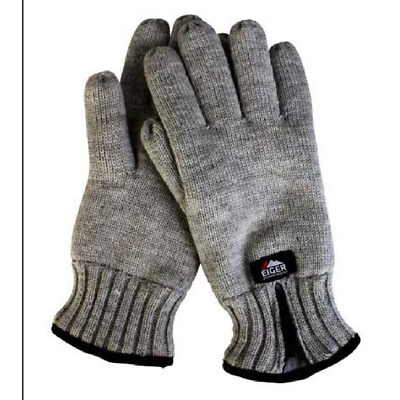 Eiger Knitted Glove 3M Insulate With Zipper • 9.99£