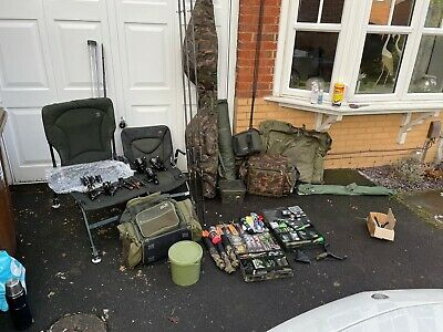Complete Carp Fishing Set Up • 950£