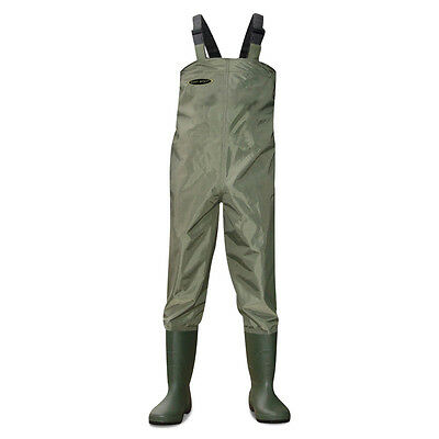 Dirt Boot® Nylon Chest Waders 100% Waterproof FLY Coarse Fishing Muck Wader • 34.99£