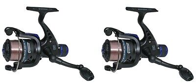 Oakwood RD 30 Match Float / Feeder Coarse Fishing Reel With Line X 2 • 16.44£