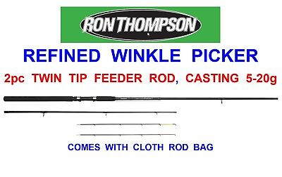 NEW RON THOMPSON 8ft WINKLE PICKER TWIN TIP FEEDER ROD WAGGLER FLOAT MATCH BOMB • 29.95£