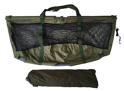 MDI Carp Deluxe Floating Folding Carp Fishing Weigh Sling 123x60cm Carry Pouch  • 29.99£